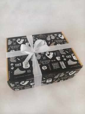 """Подарочный набор мужчине """"Кофейная кантата"""" в коробке"""